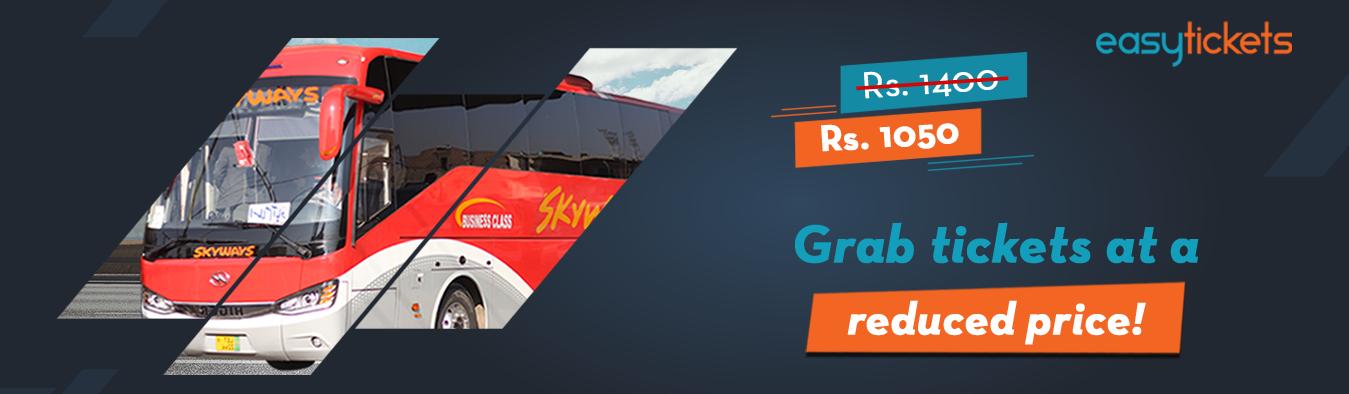 Skyways Buisness Class- Exclusive Discount Offer