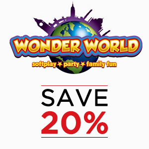 Wonder World Discount Offer!