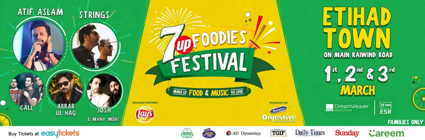 7up Foodies Festival - Lahore