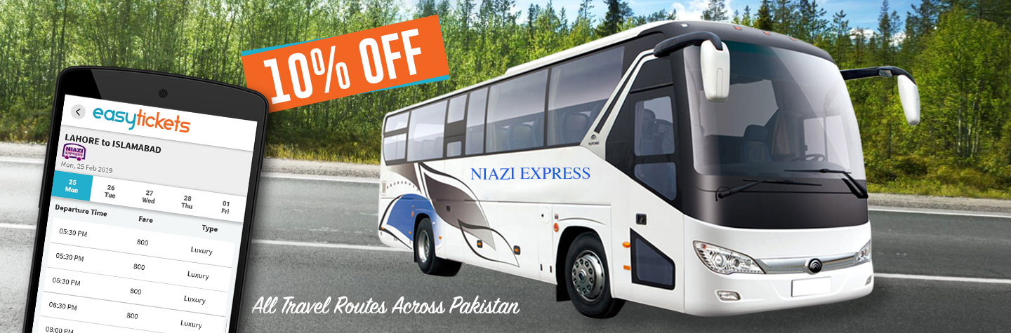 Niazi Express- Limited Time Offer