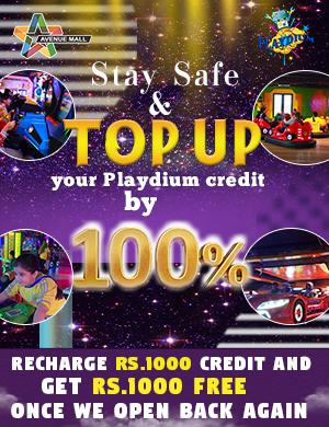 Playdium Advance Top Up Offer