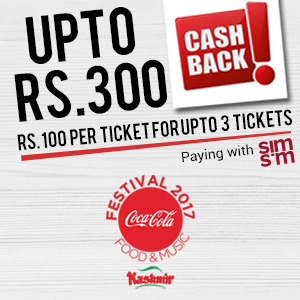 Enjoy Cash backs at Coke Food Fest 2017!